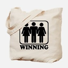 Winning Threesome Tote Bag