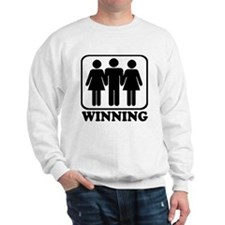 Winning Threesome Sweatshirt