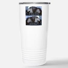 Emo Kitty... Still Emo Stainless Steel Travel Mug