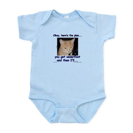 Okay, Here's the Plan... Infant Bodysuit