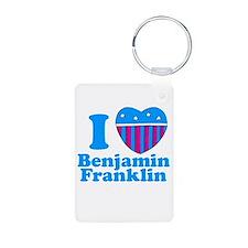 Benjamin Franklin Keychains
