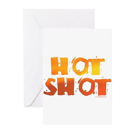 HOT SHOT™ Greeting Cards (Pk of 10)