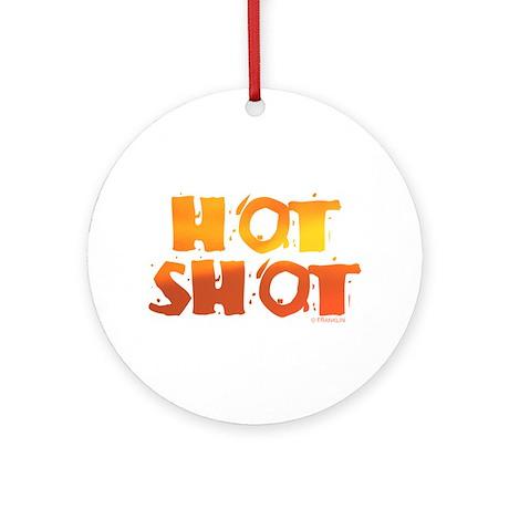 HOT SHOT™ Ornament (Round)