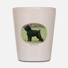 Russian Black Terrier Shot Glass