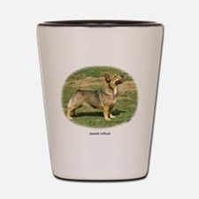 Swedish Vallhund Shot Glass