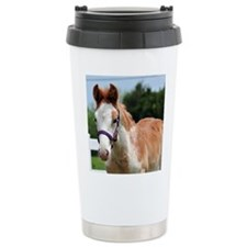 Strawberry Roan Foal Travel Mug