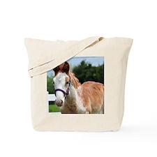 Strawberry Roan Foal Tote Bag