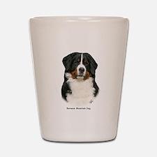 Bernese Mountain Dog 9Y348D-0 Shot Glass