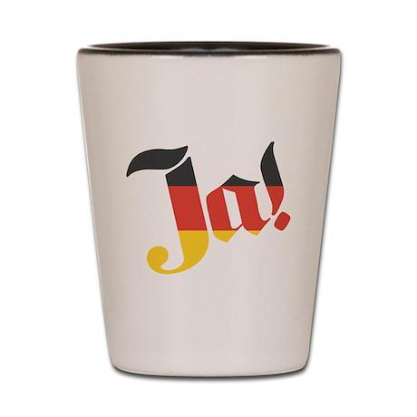 Ja! German for Yes! Shot Glass