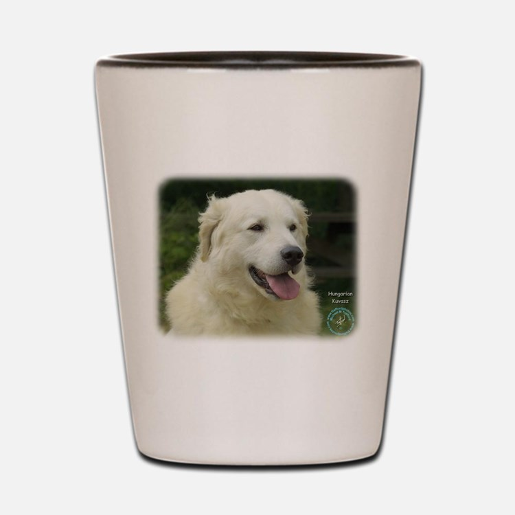 Kuvasz 8W02-17 Shot Glass