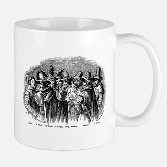 plotters_gunpowder4 Mugs