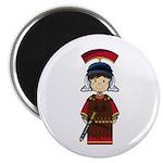 """Cute Little Roman Soldier 2.25"""" Magnet (100 P"""