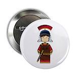 "Cute Little Roman Soldier 2.25"" Button"