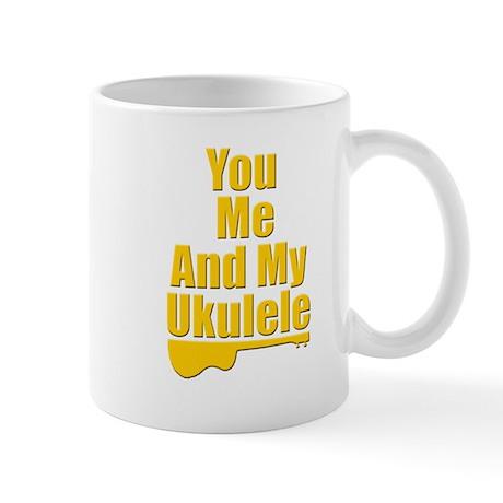 funny ukulele Mug