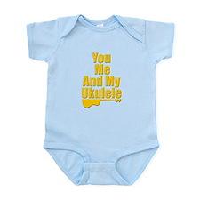 funny ukulele Infant Bodysuit