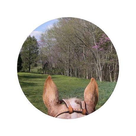 """Horse Ride 3.5"""" Button"""