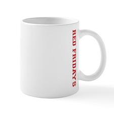 Red Fridays Side Mug