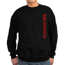 Red Fridays Side Sweatshirt