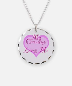 My Grandma Loves Me Necklace