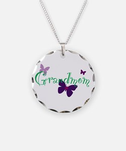 Grandmom Butterflys Necklace