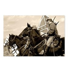 Civil War Reenactment Postcards (Package of 8)
