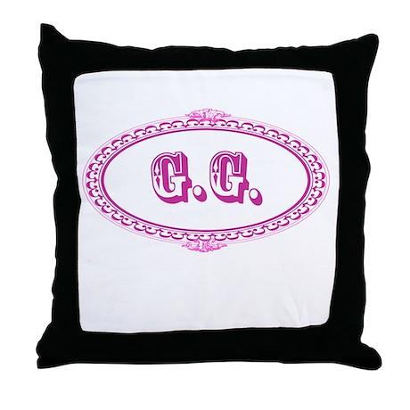 G.G. Throw Pillow