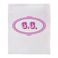 G.G. Throw Blanket