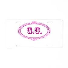 G.G. Aluminum License Plate