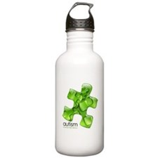 PuzzlesPuzzle (Green) Water Bottle