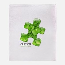 PuzzlesPuzzle (Green) Throw Blanket