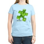 PuzzlesPuzzle (Green) Women's Light T-Shirt