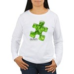 PuzzlesPuzzle (Green) Women's Long Sleeve T-Shirt