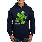 PuzzlesPuzzle (Green) Hoodie (dark)