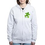 PuzzlesPuzzle (Green) Women's Zip Hoodie