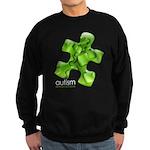 PuzzlesPuzzle (Green) Sweatshirt (dark)