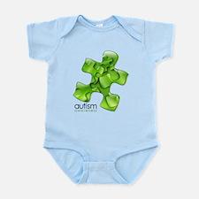 PuzzlesPuzzle (Green) Infant Bodysuit