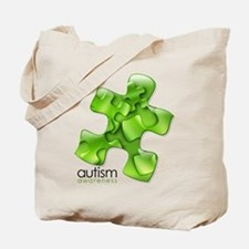 PuzzlesPuzzle (Green) Tote Bag