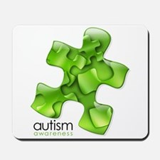 PuzzlesPuzzle (Green) Mousepad