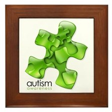 PuzzlesPuzzle (Green) Framed Tile