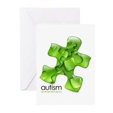 PuzzlesPuzzle (Green) Greeting Cards (Pk of 20)