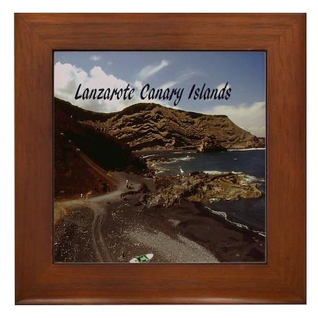 Lanzarote Framed Tile