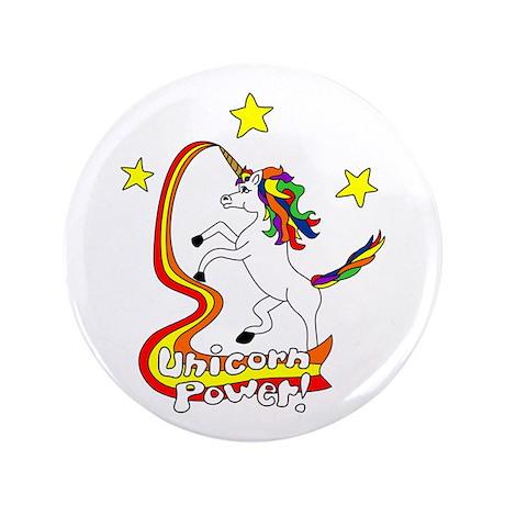 "Unicorn Power 3.5"" Button"