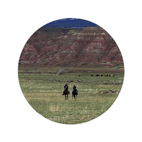 """Purple Mountain Riders 3.5"""" Button (100 pack)"""