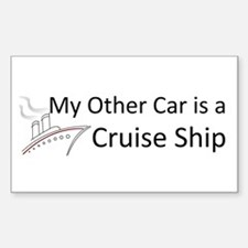 My Other Car... Cruise Ship Decal