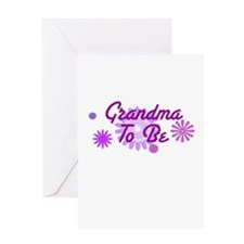 Grandma To Be Greeting Card