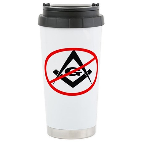 Anti Masons - Stainless Steel Travel Mug