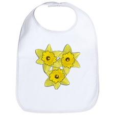 Yellow daffodil Bib