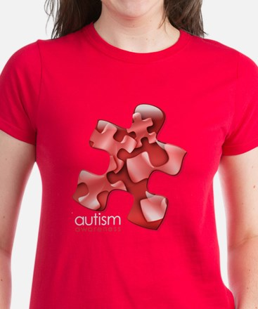 PuzzlesPuzzle (Red) Tee