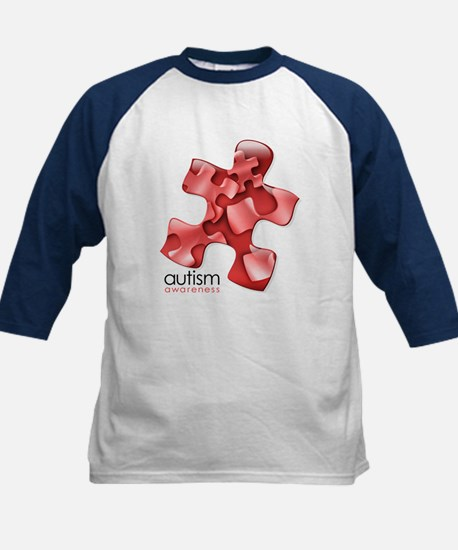 PuzzlesPuzzle (Red) Kids Baseball Jersey