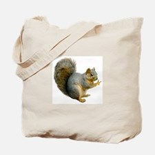 Peace Squirrel Tote Bag